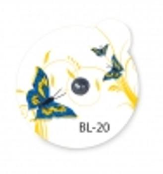 Suremark Skin Marker Beauty Line BL-20: 2.0mm lead ball on BeautyLine Butterfly label (110 per box)