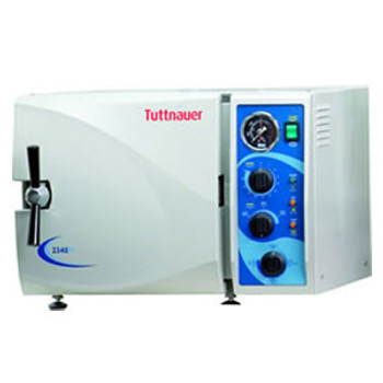 Tuttnauer 2340M Semi-Automatic Autoclave Sterilizer 110 VOLT MODEL **Free Shipping by Pricenex**