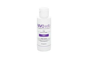 NIVO EDTA, EDTA Solution for Root Canal Treatments, 17%, Bottle of 120ml