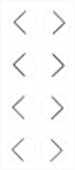 PortalMark Labels Skin Marker PM-125: PortalMark Corner Sheet (50 sheets per box) Suremark
