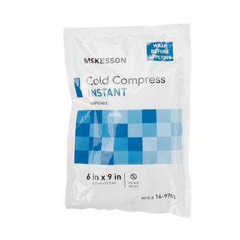 Cold Pack Instant General Purpose 6 x 9 Disposable 24pk