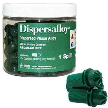 Dispersalloy 1-Spill Regular Set 50pk, Expires 02/21