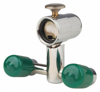 Eye Wash Station Fountain, mounts behind faucet, Opti-Klens, Package of 1 *Free Shipping by Pricenex*