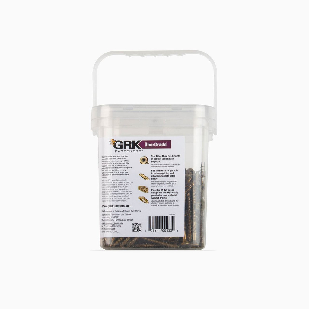 GRK R4 Multi-Purpose Screws