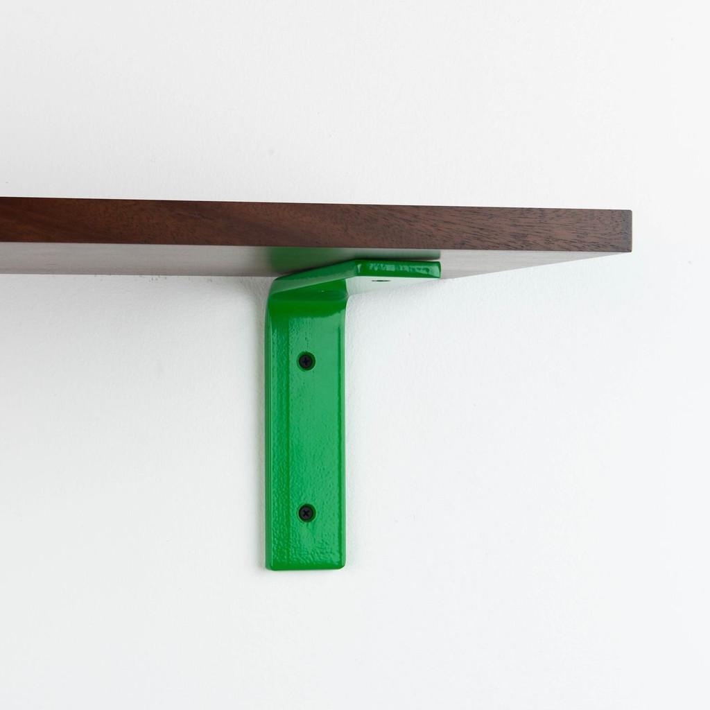 Leif Dutch Mocha L Bracket Shelf System