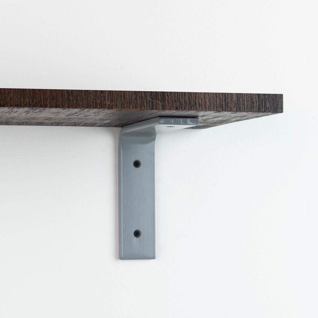 Leif Espresso Rustic Shelf