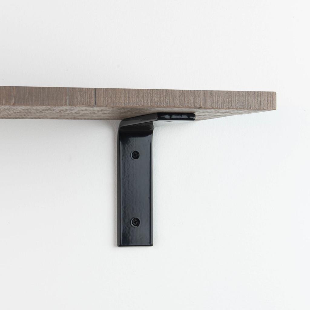 Leif Hatch Grey Rustic Shelf