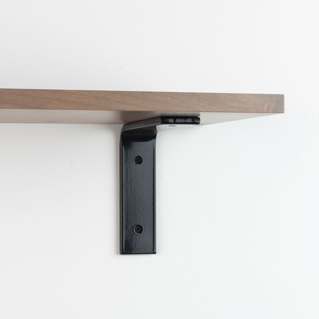 Leif Hatch Grey Smooth L Bracket Shelf System