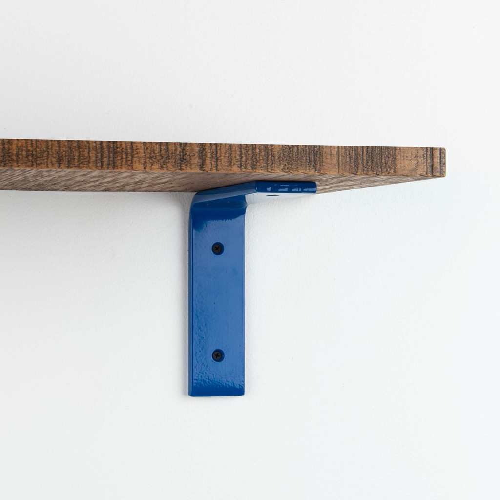 Leif Nutmeg Rough L Bracket Shelf System