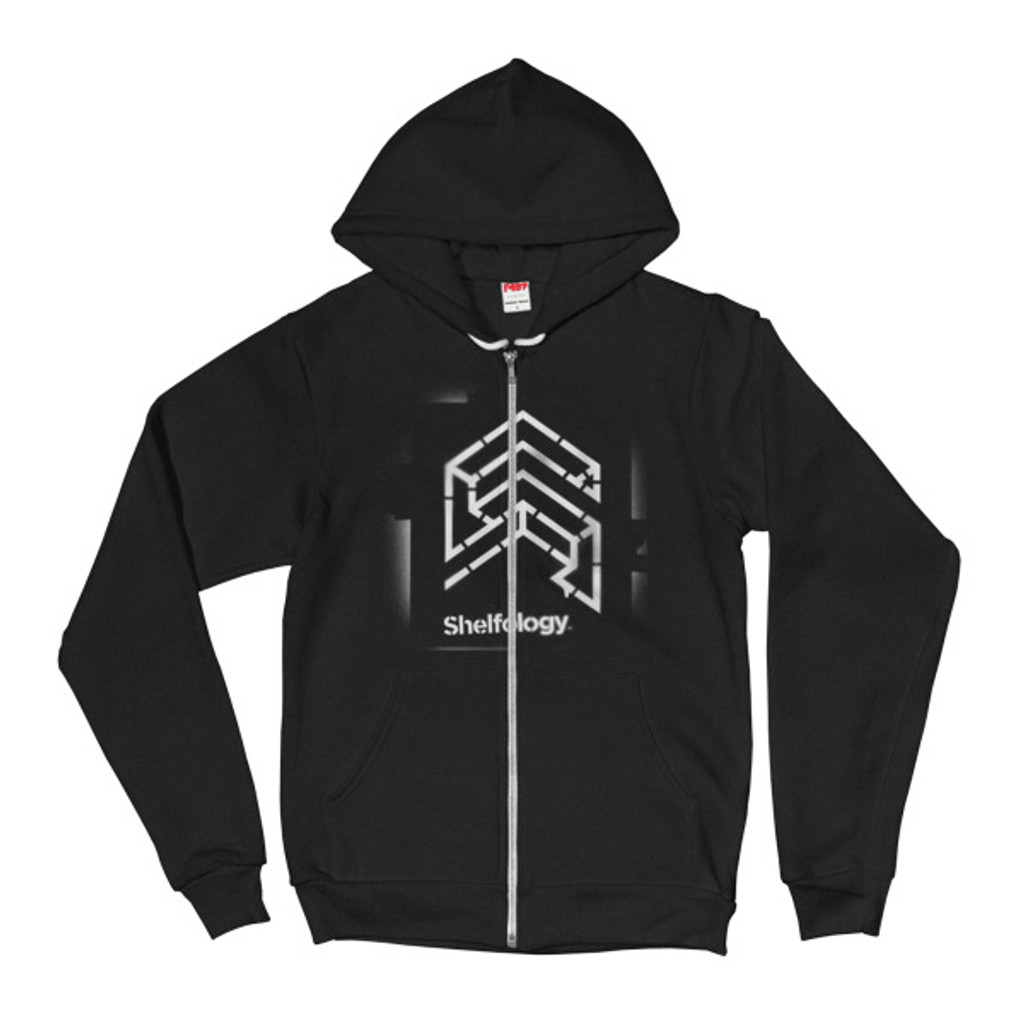 Tagged Zipped Hoodie