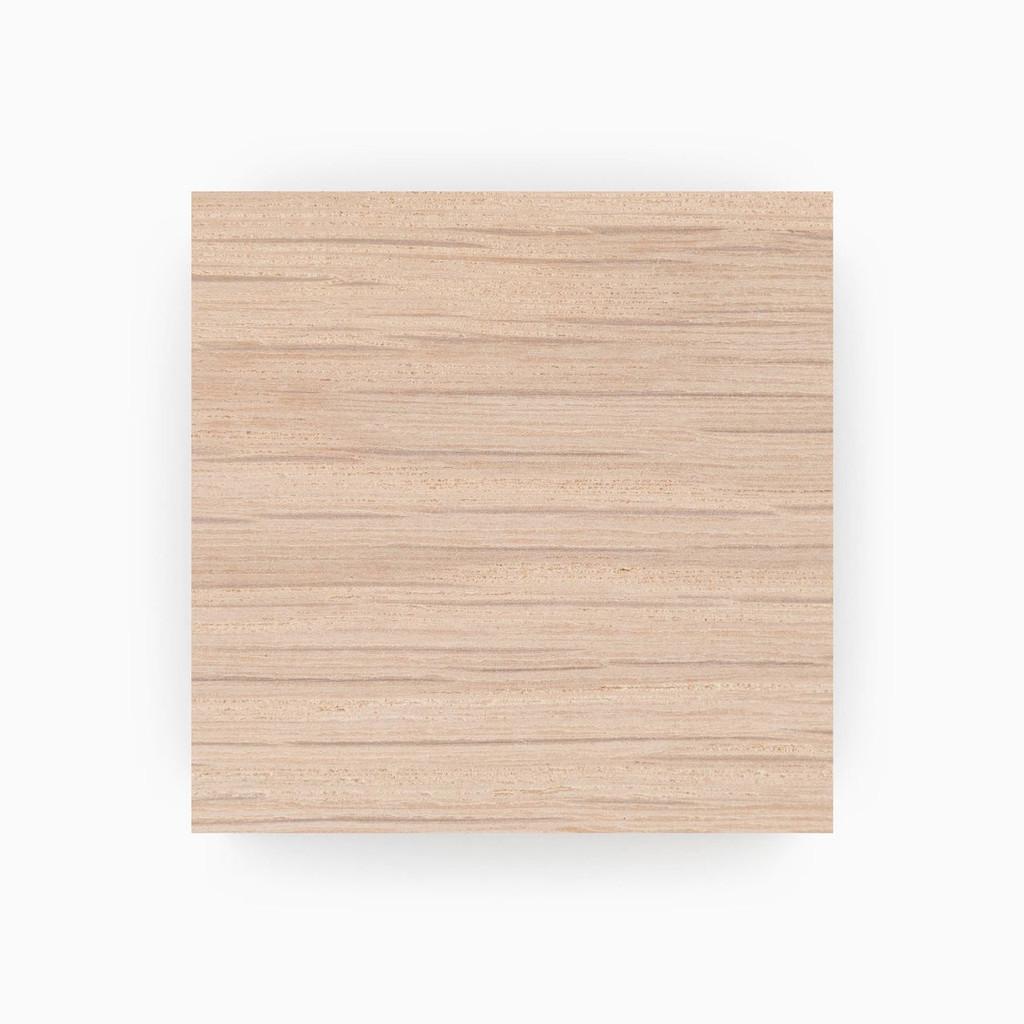 Raw Unfinished White Oak Swatch