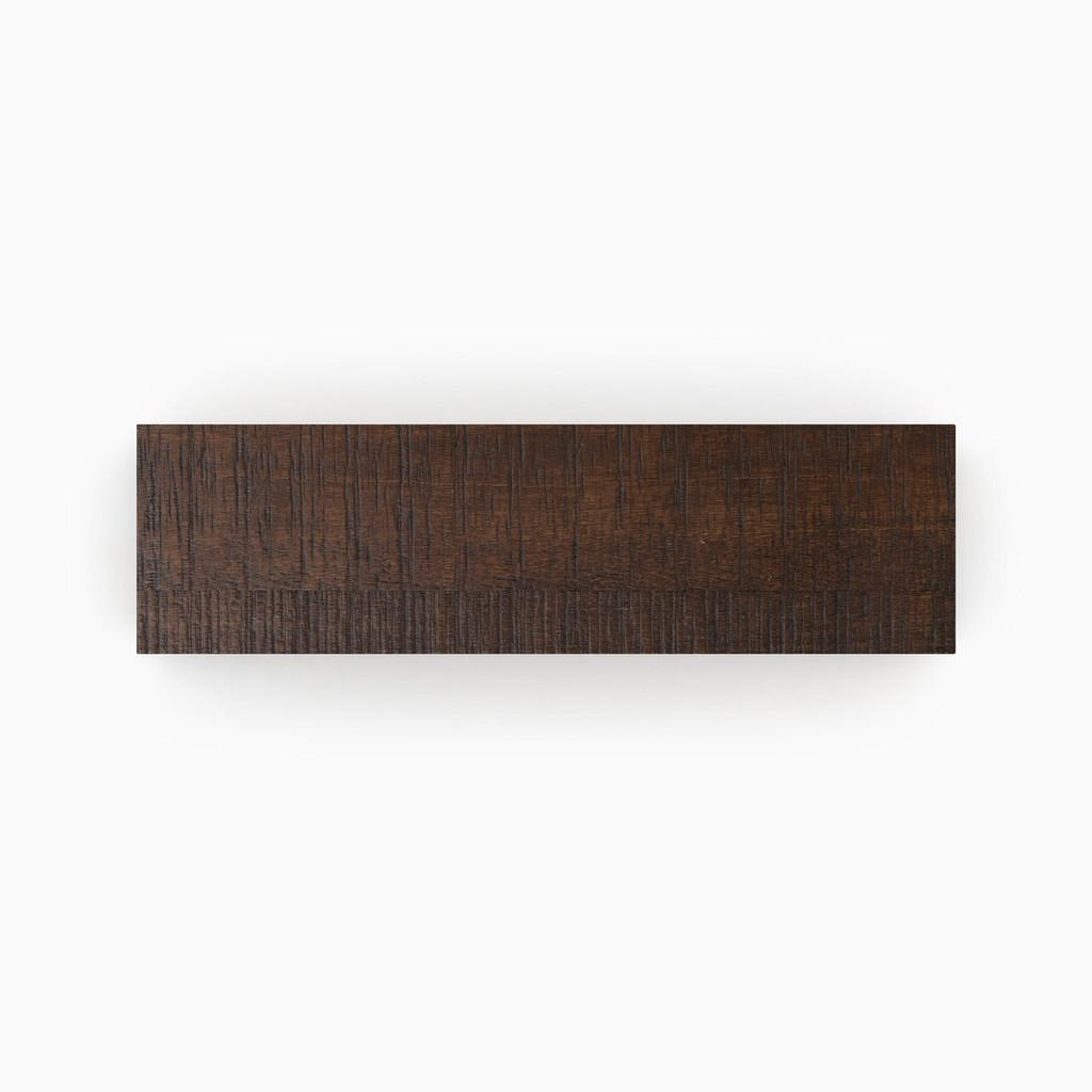 Stunning Stains Espresso Rough Cut Shelf Slab