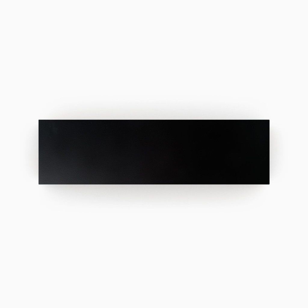 Premium Paint Black Engineered Shelf