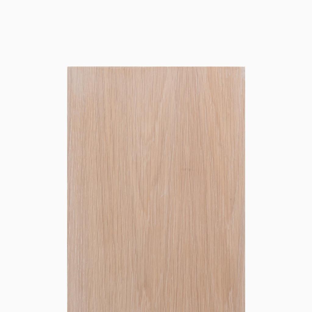 Glazed White Oak Wood Slab