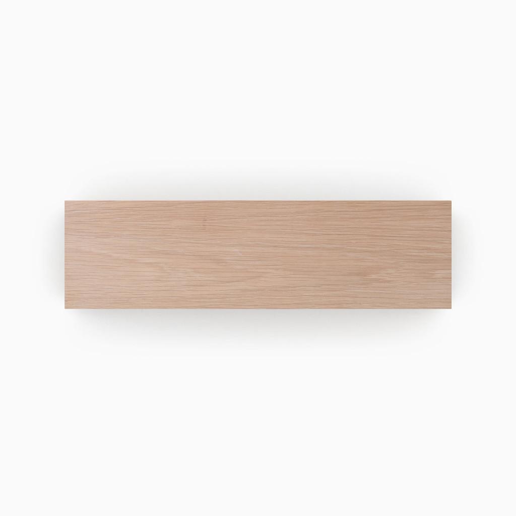Stunning Stains Glazed White Oak Shelf slab