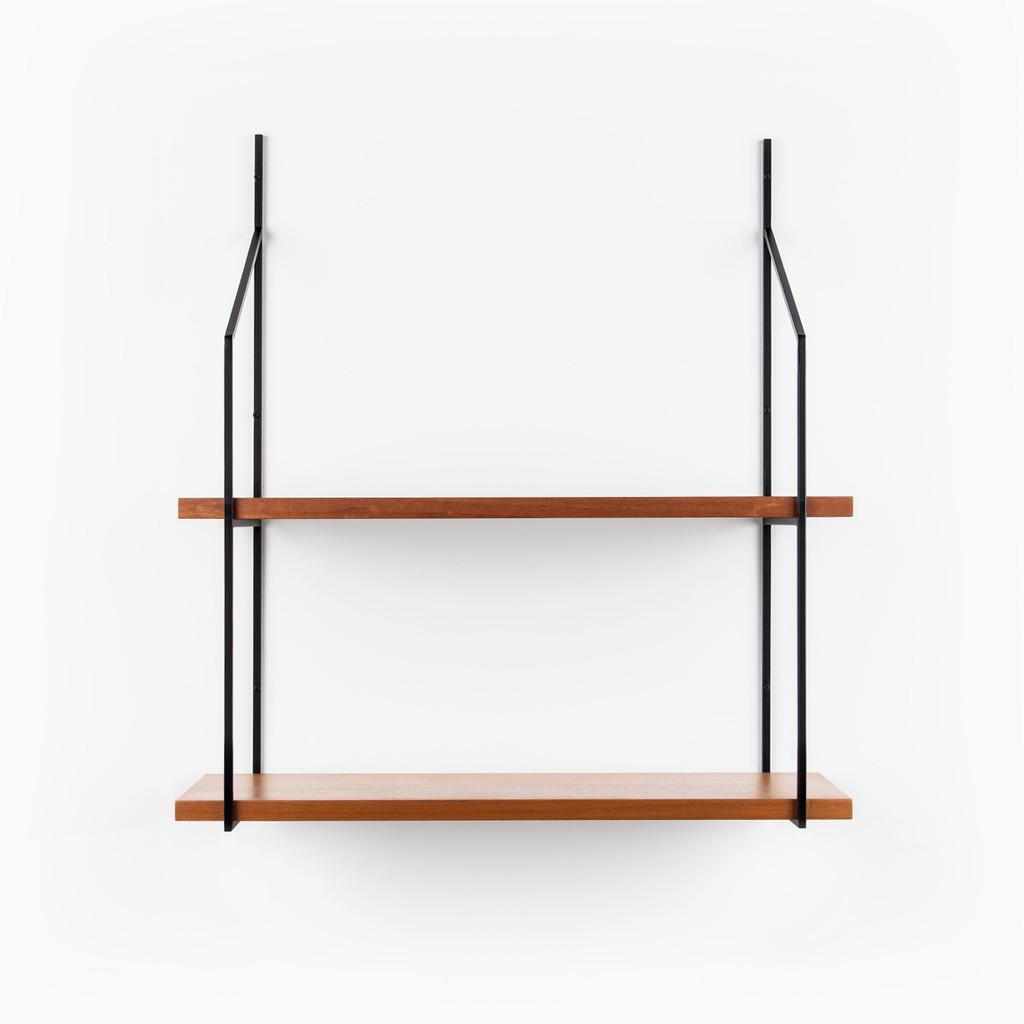 Verne Single Two Shelf Bracket