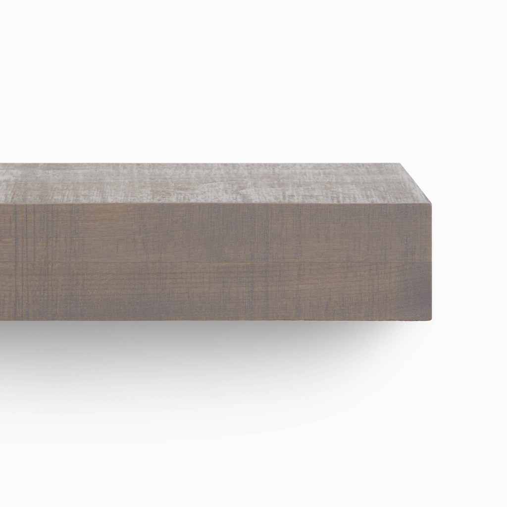 Glenn Hatch Grey Floating Mantel (Rough Cut)