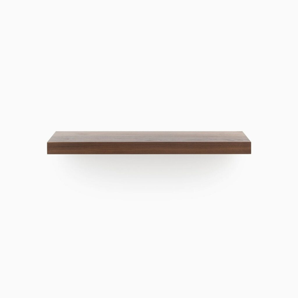 Design your wall with our easy to install Walnut Floating Wood Shelves. Comes with 2 finish options.