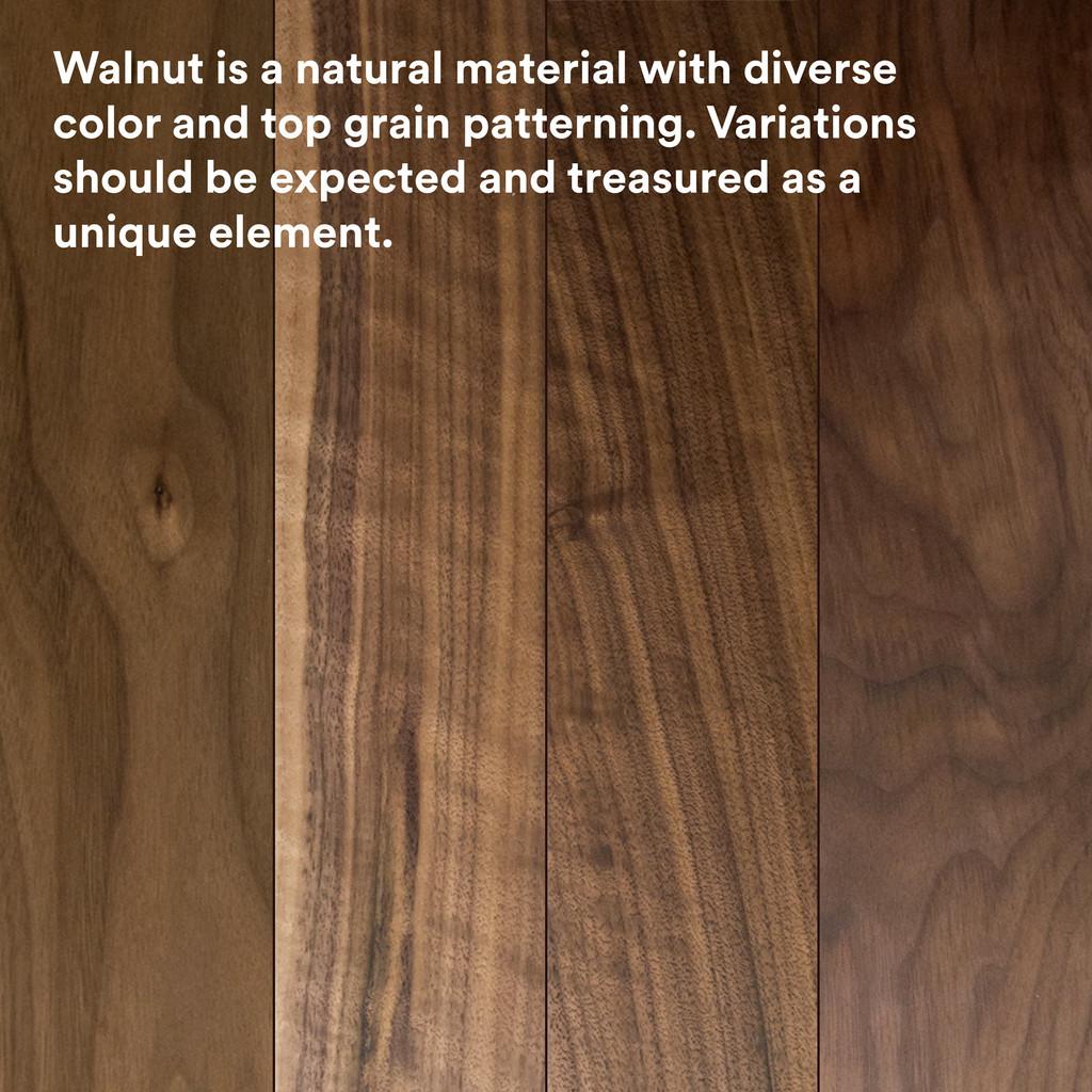 Aksel Walnut Floating Shelf