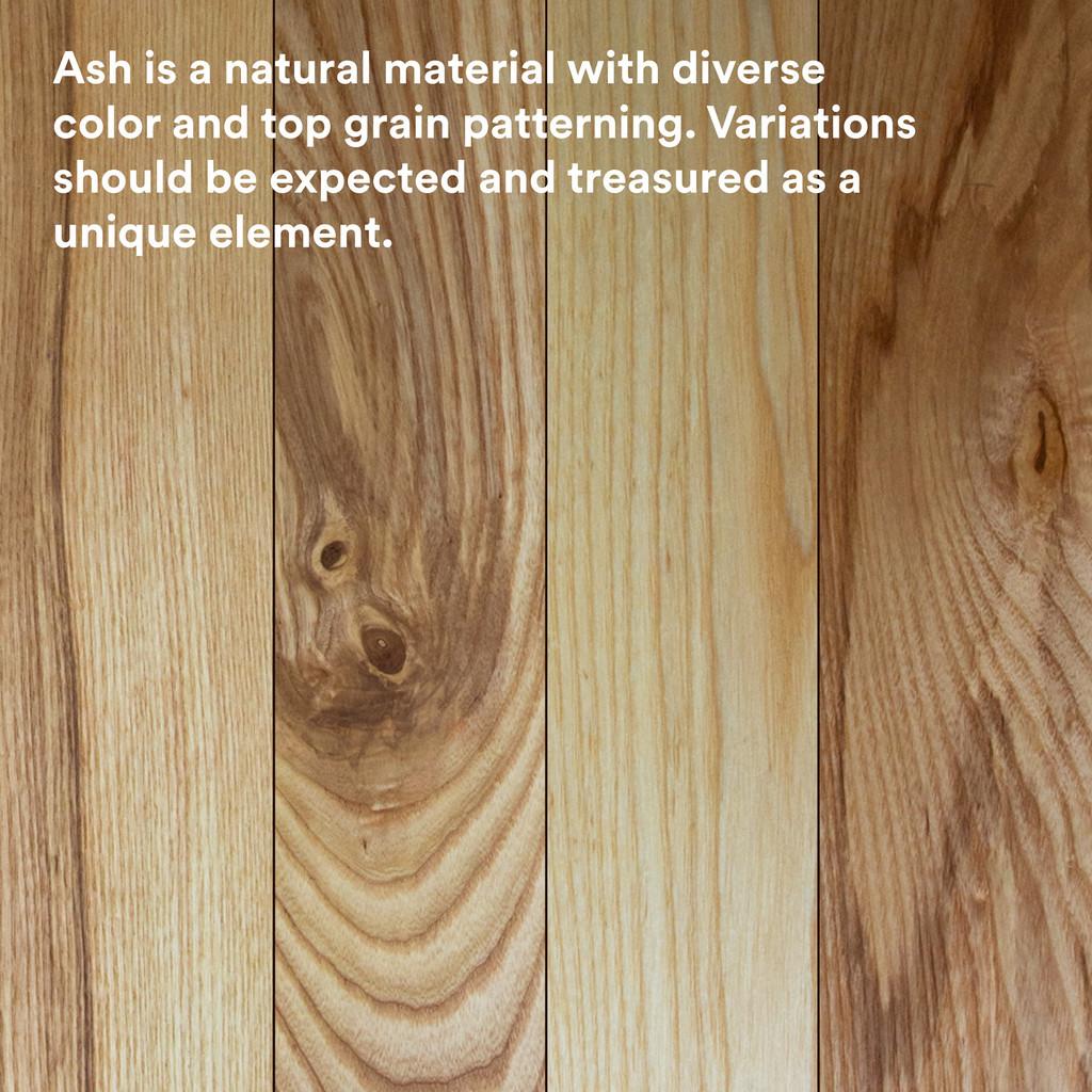 Aksel Ash Floating Shelf
