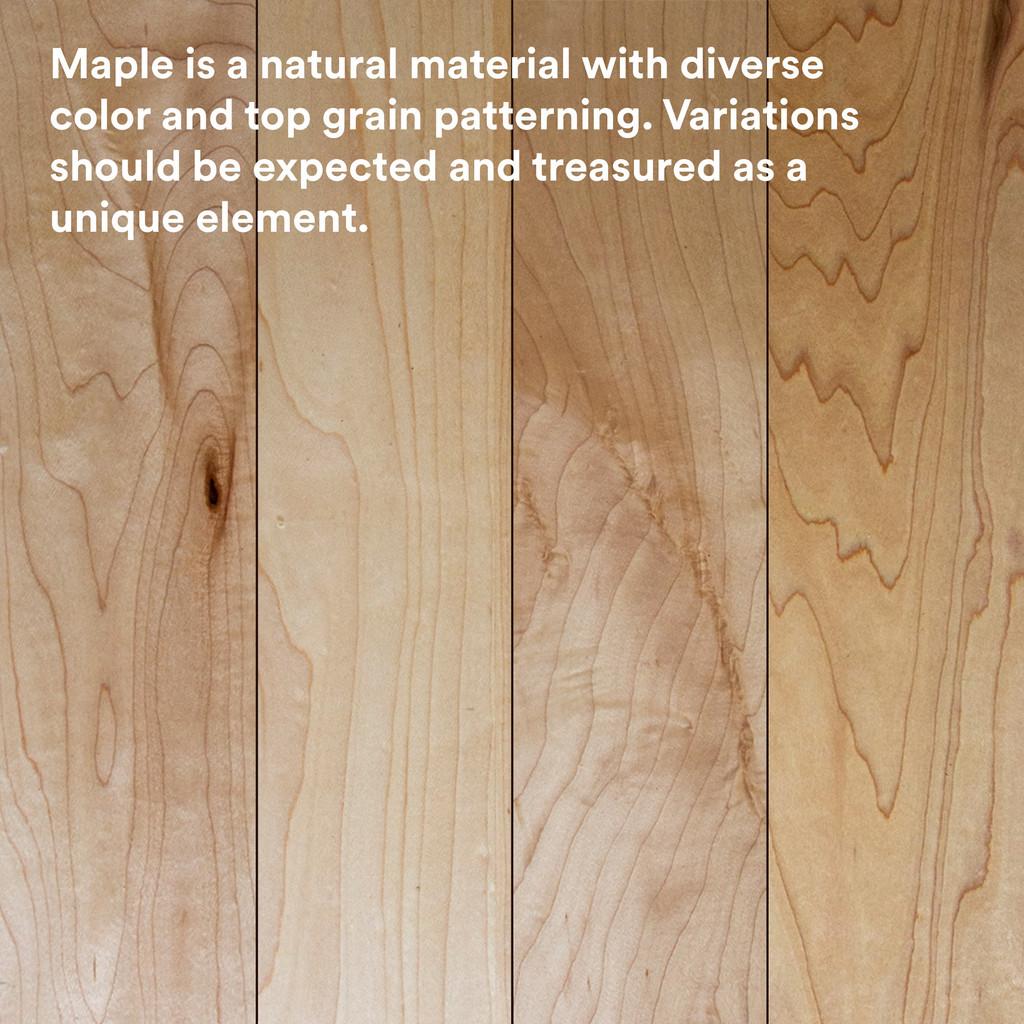 Aksel Maple Floating Shelf