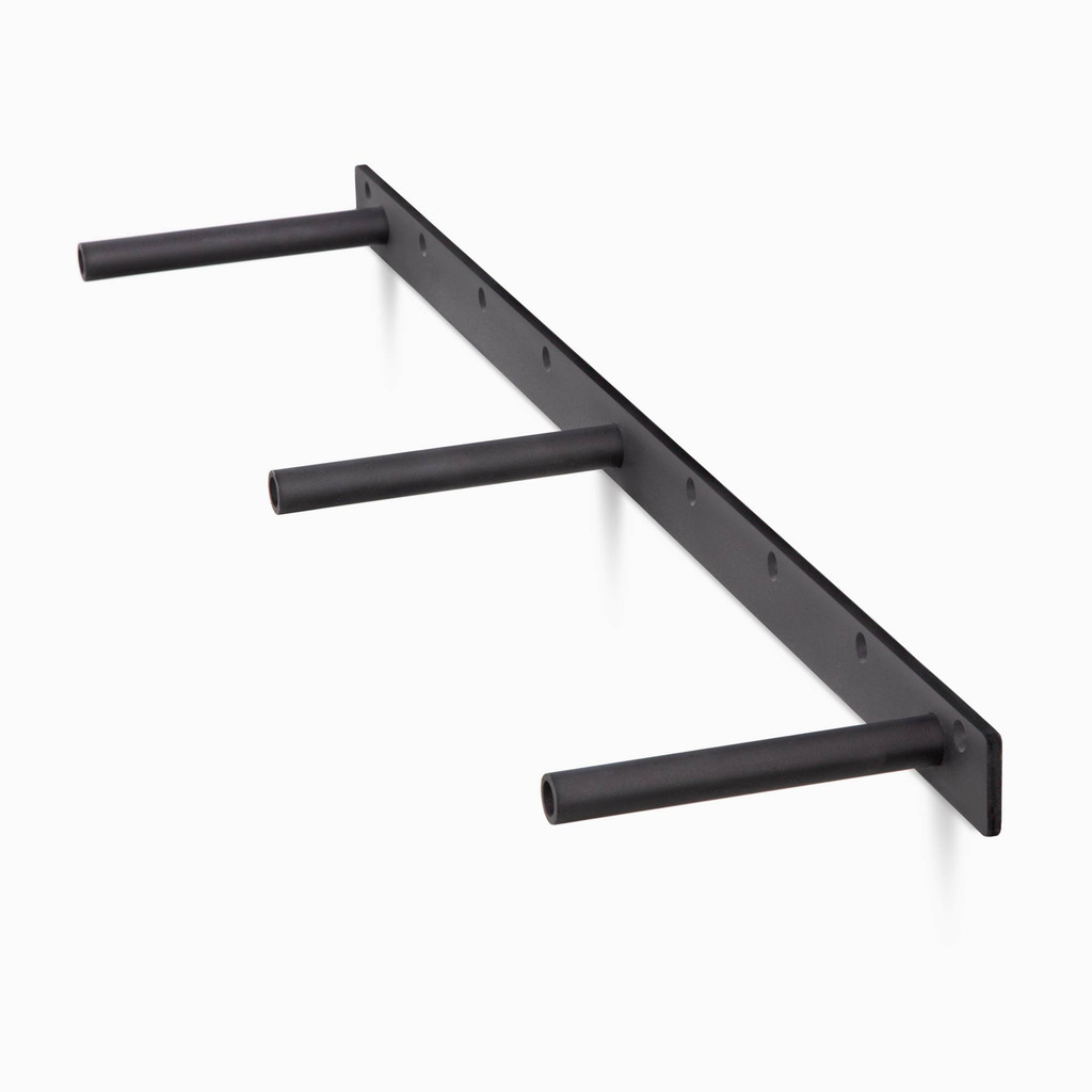 three quarter view of the HD floating shelf bracket, 15 lengths options available