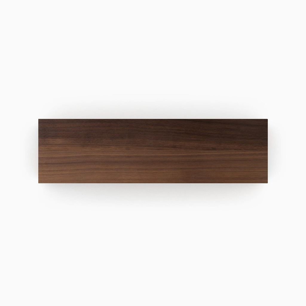 Clear Finished Walnut Shelf Slab