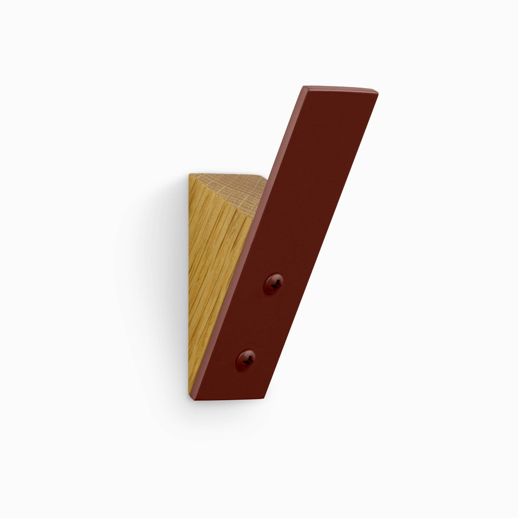 Shard Wall Hook White Oak