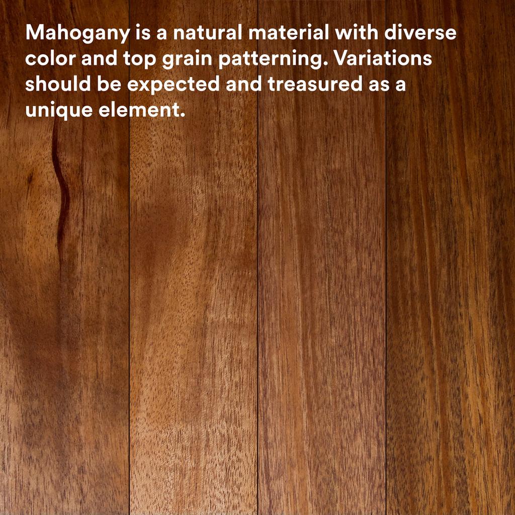 Leif Mahogany Shelf