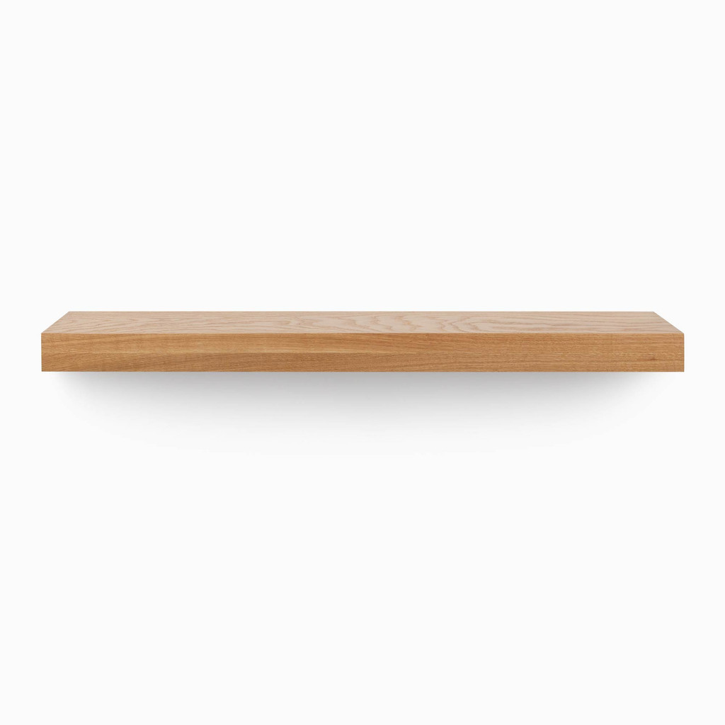 Glenn White Oak Floating Mantel