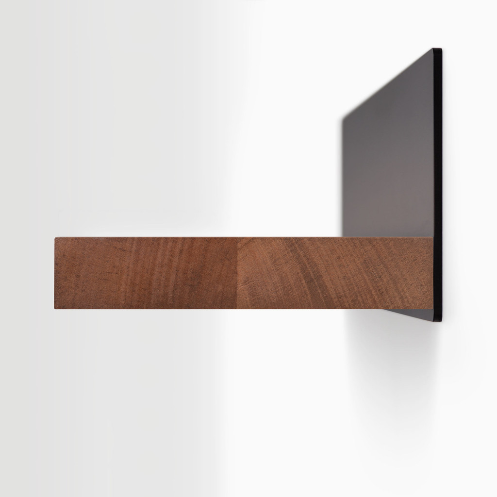 Skaksel Mahogany Floating Shelf