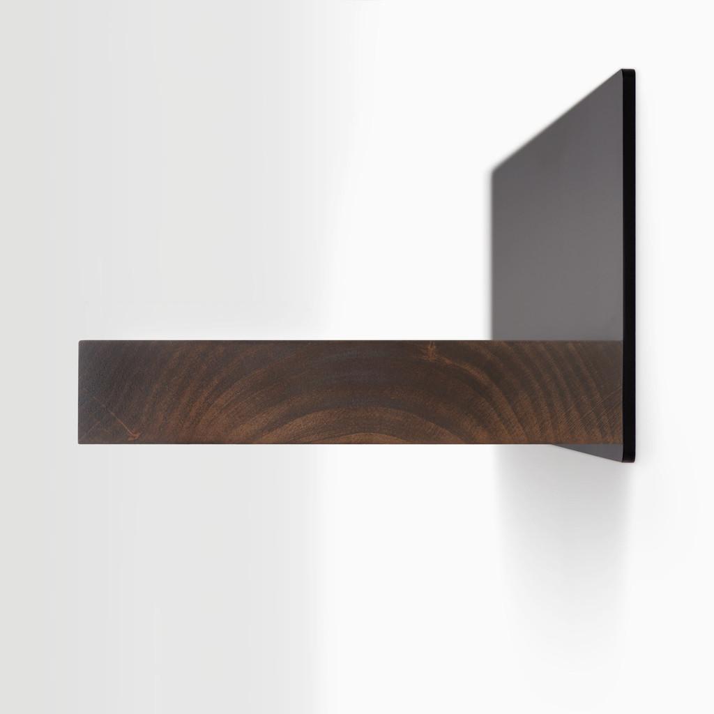 Skaksel Espresso Floating Shelf