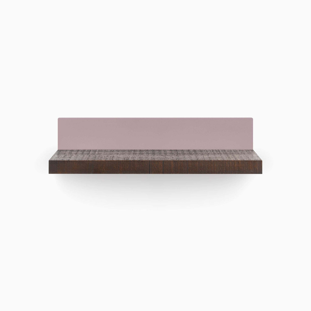 Skaksel Espresso Floating Shelf (Rough Cut)