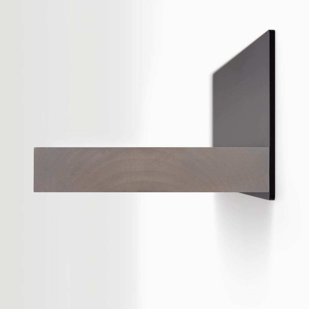 Skaksel Hatch Grey Floating Shelf