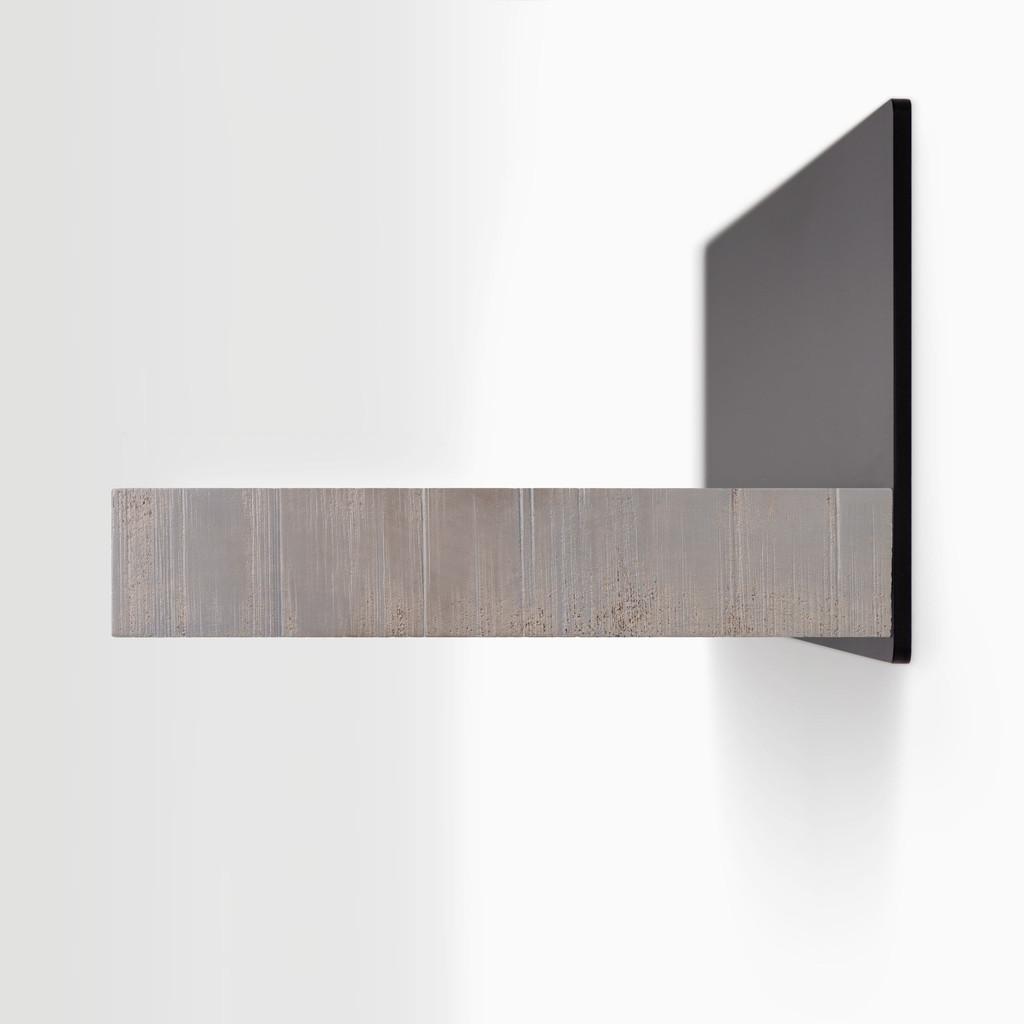 Skaksel Hatch Grey Floating Shelf (Rough Cut)
