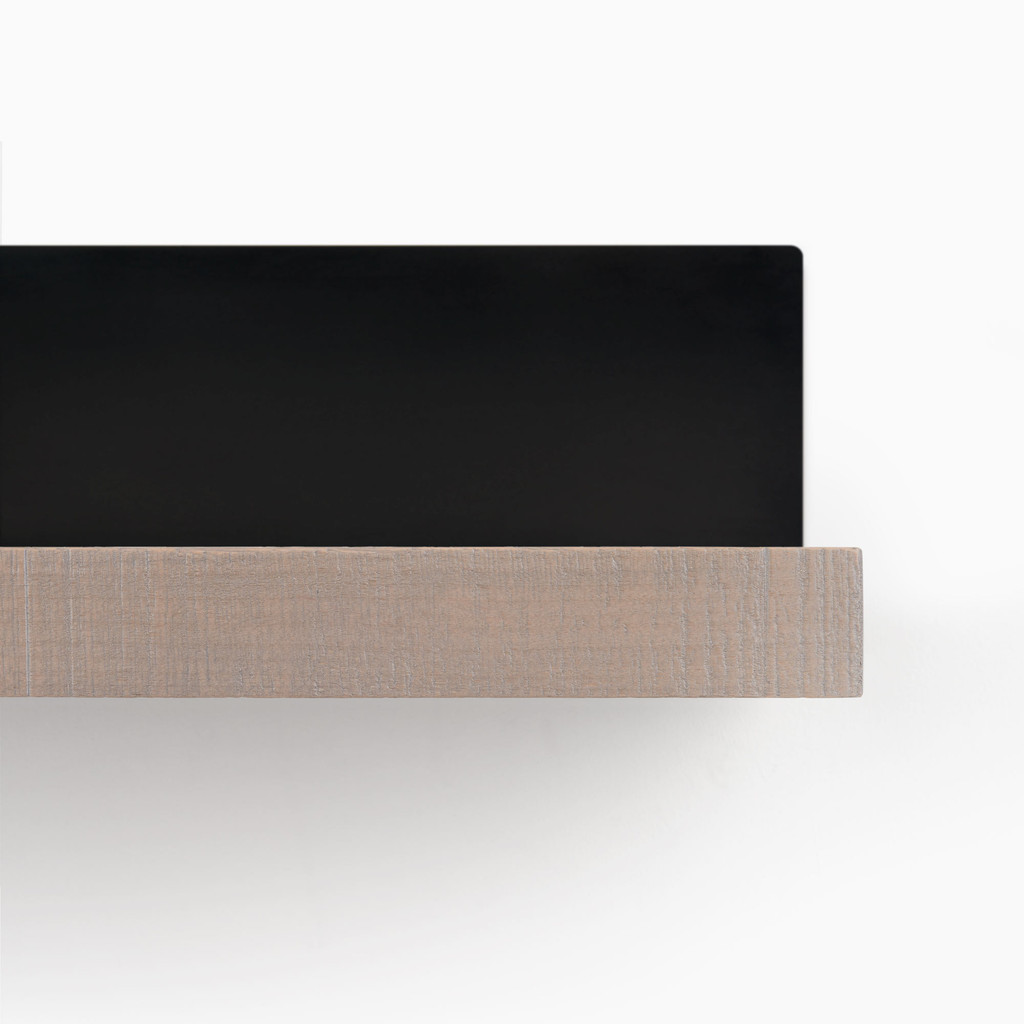 Skaksel Hatch Grey Floating Shelf (Rough Cut)