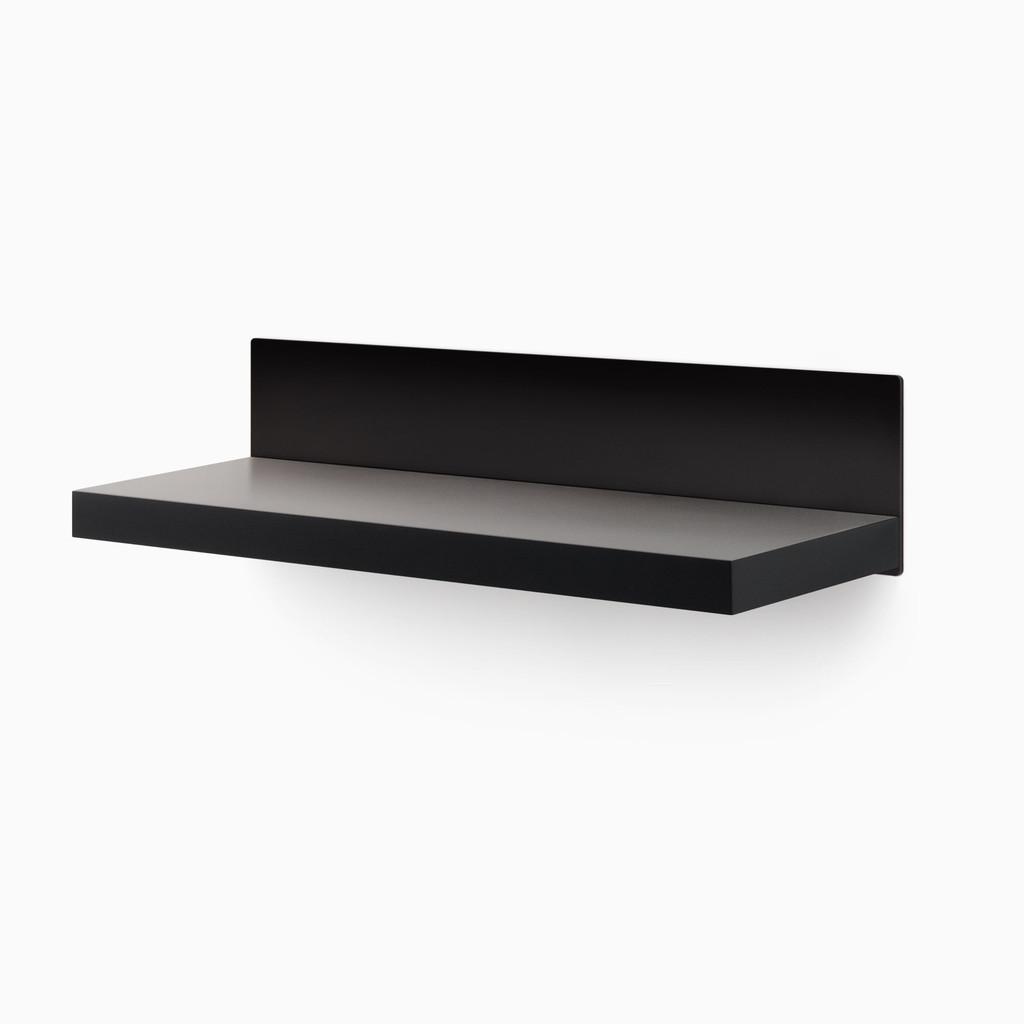 Skaksel Black Floating Shelf