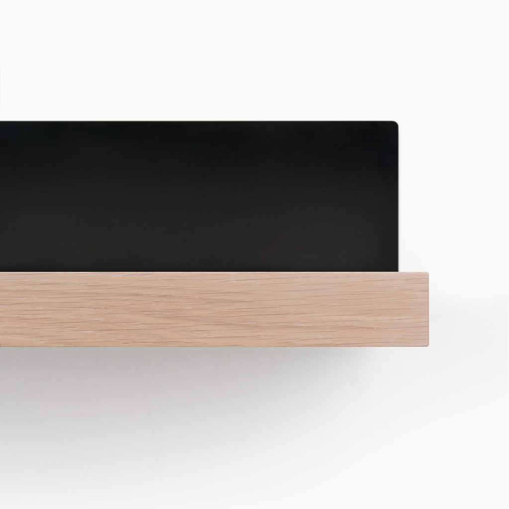 Skaksel White Oak Shelf (Glazed)