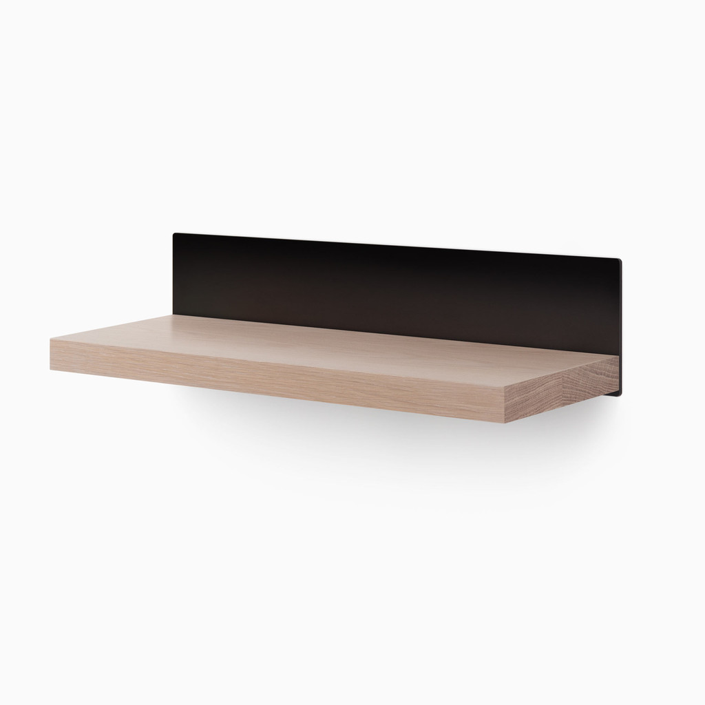 Skaksel White Oak Floating Shelf (Glazed)