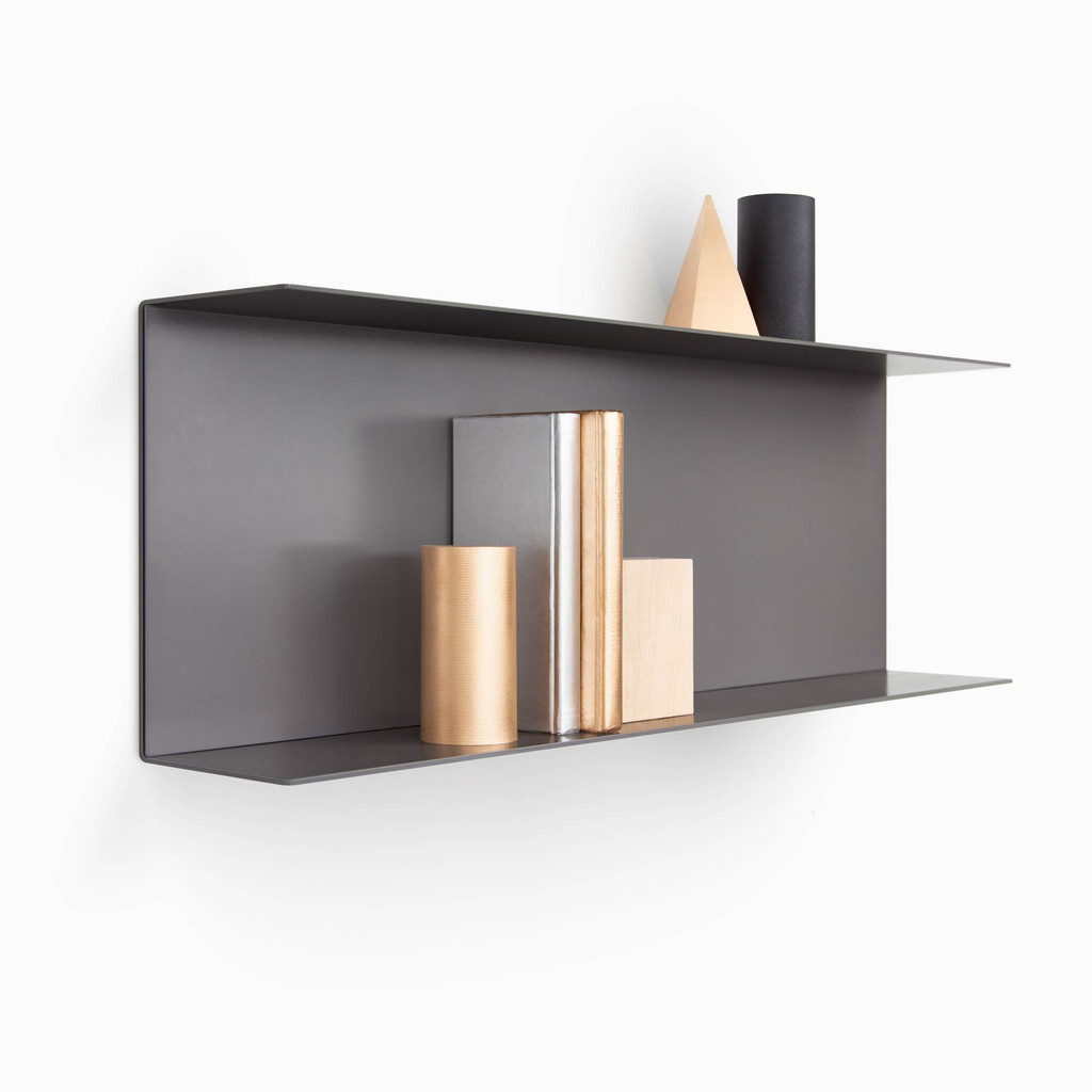 Double Bender Metal Shelf