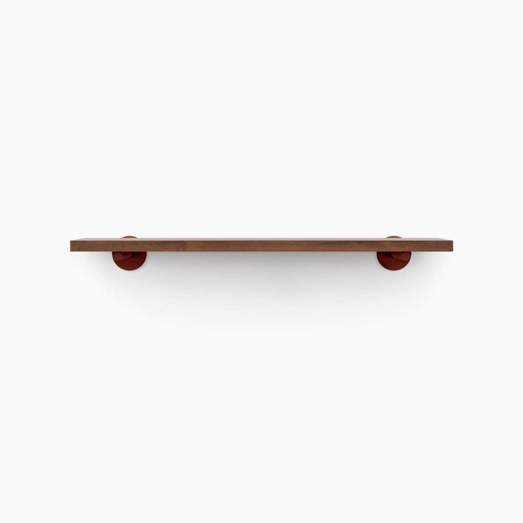 Roderick Espresso Wall Shelf