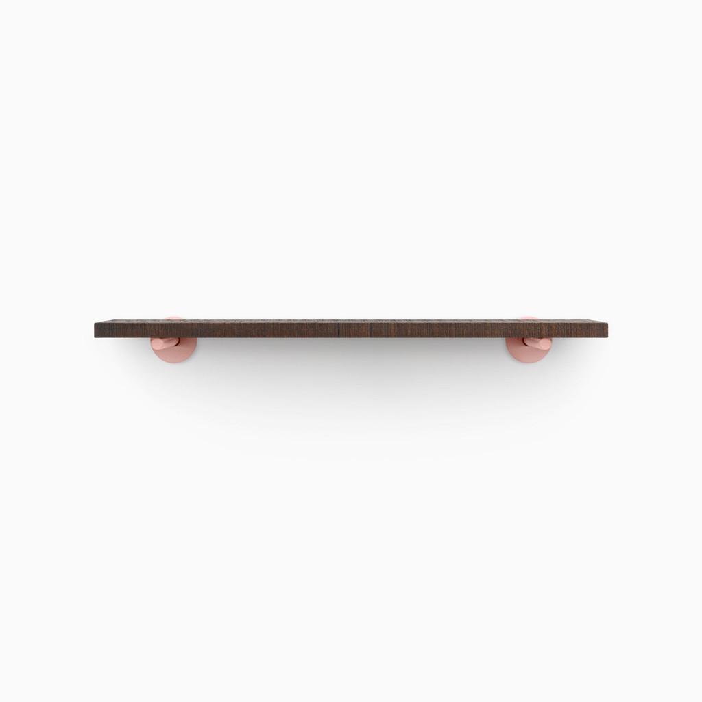 Roderick Espresso Floating Shelf (Rough Cut)