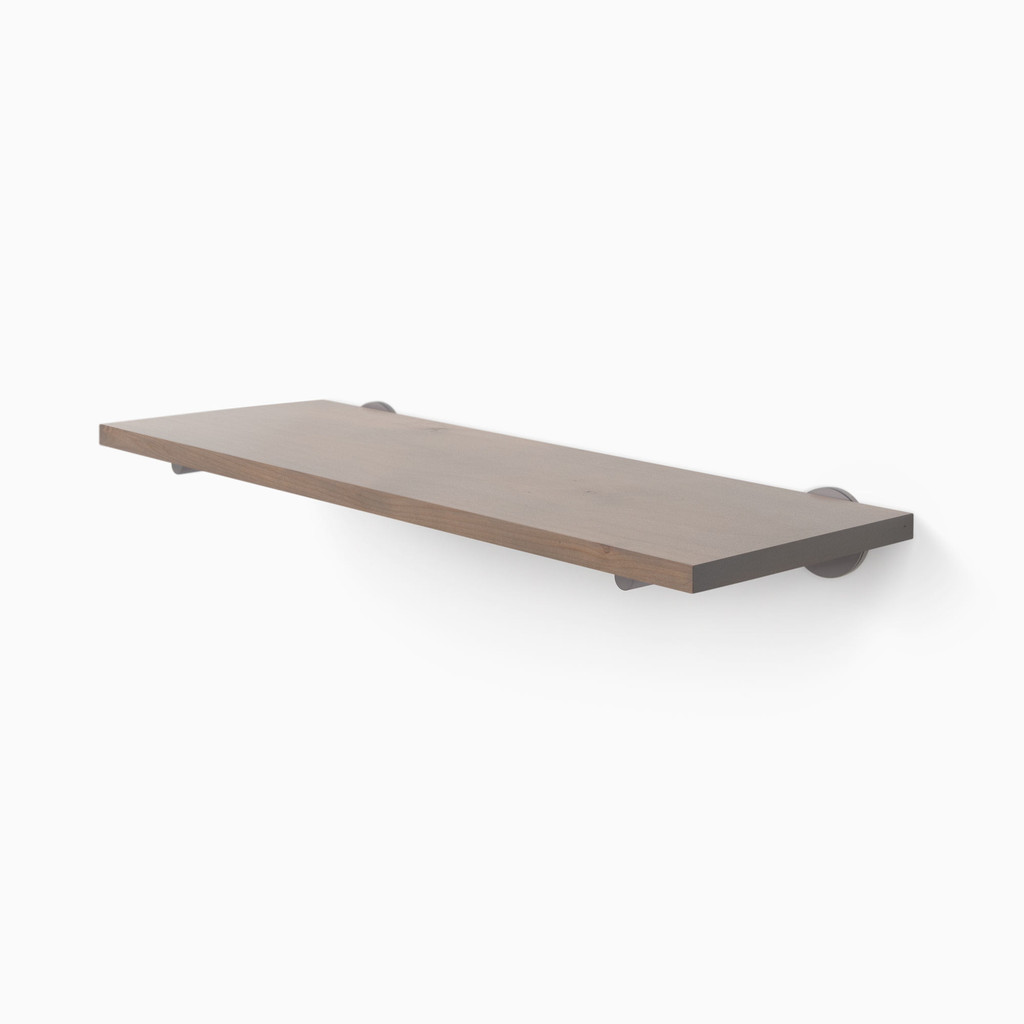 Roderick Hatch Grey Wall Shelf