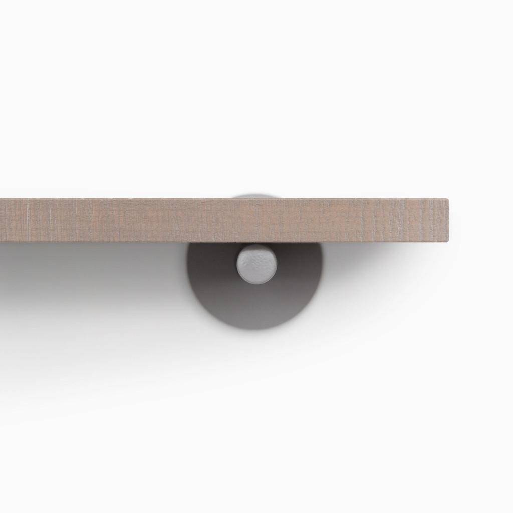 Roderick Hatch Grey Floating Shelf (Rough Cut)