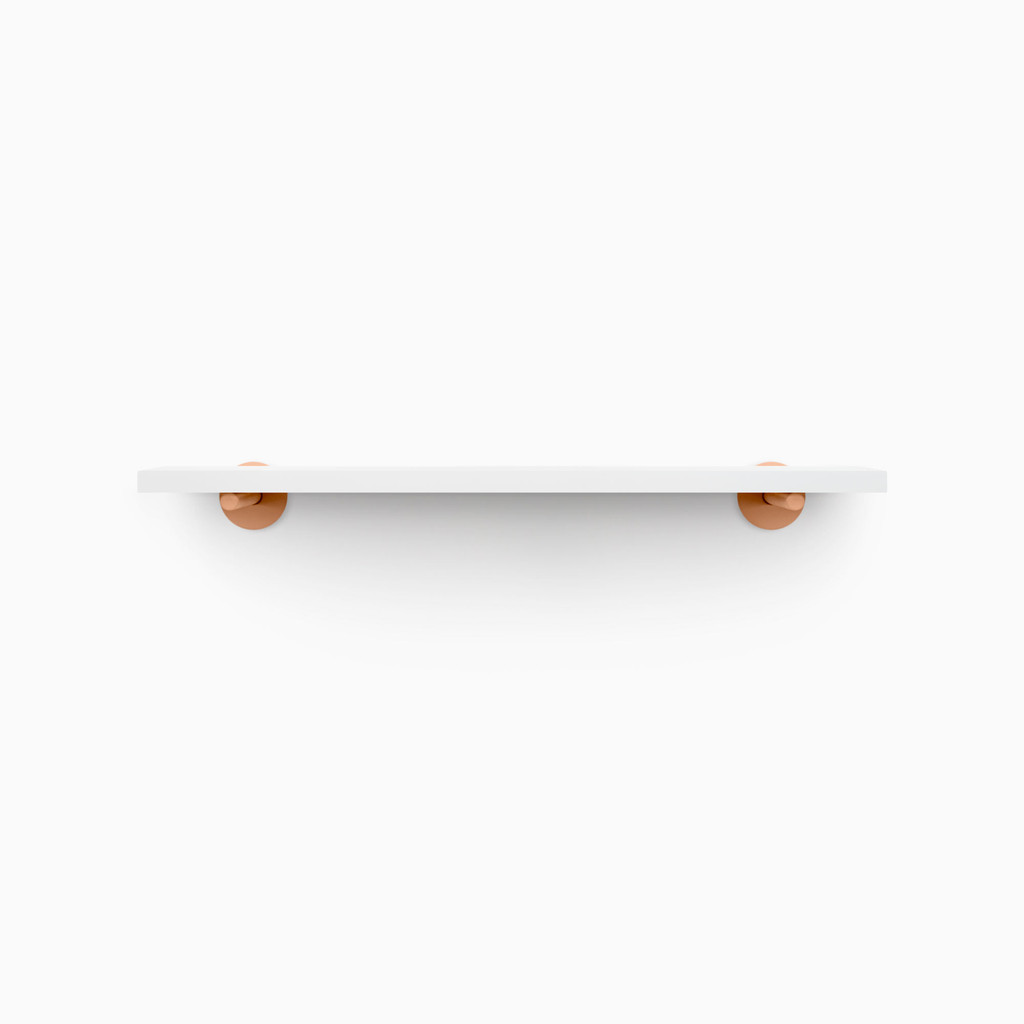 Roderick White Wall Shelf
