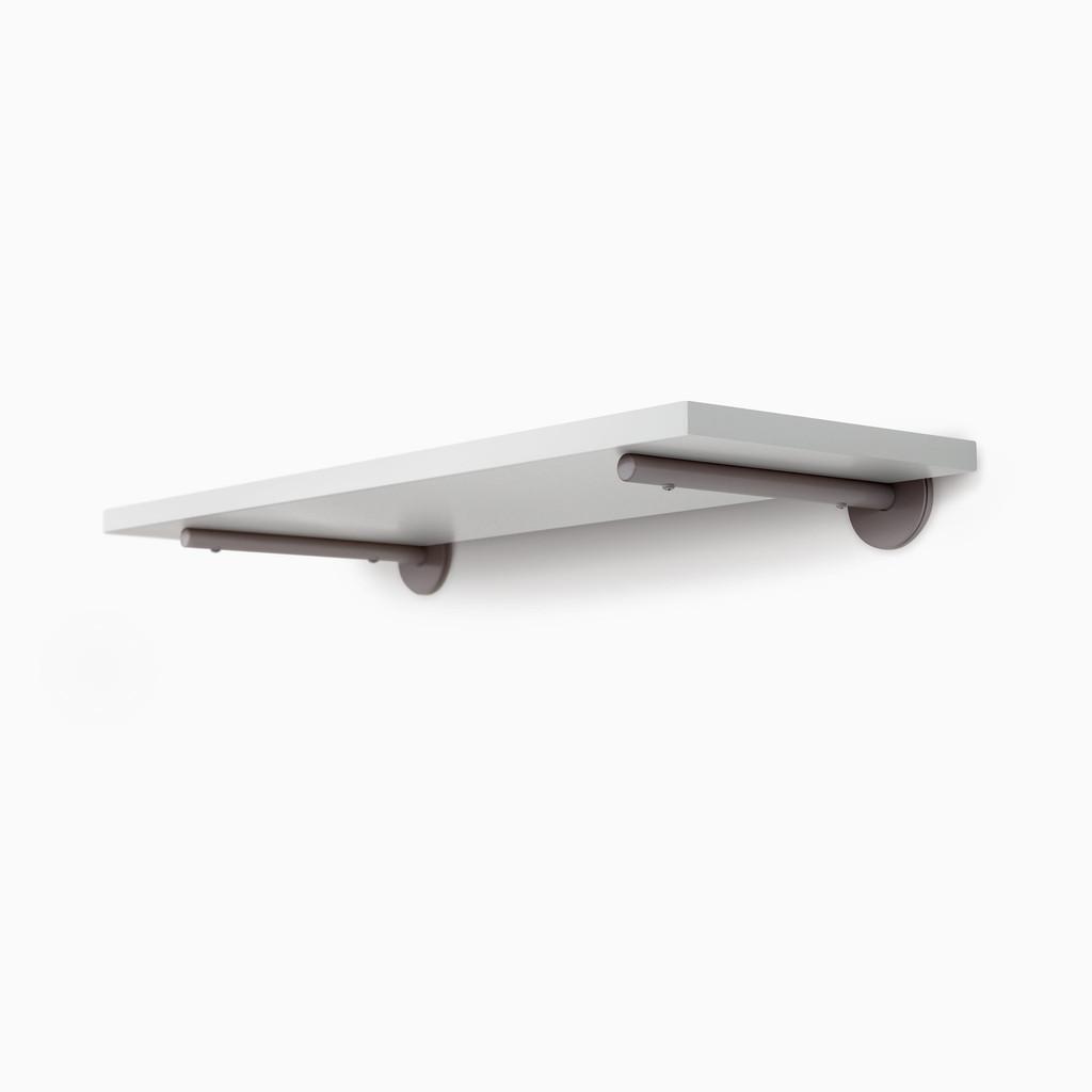 Roderick White Floating Shelf