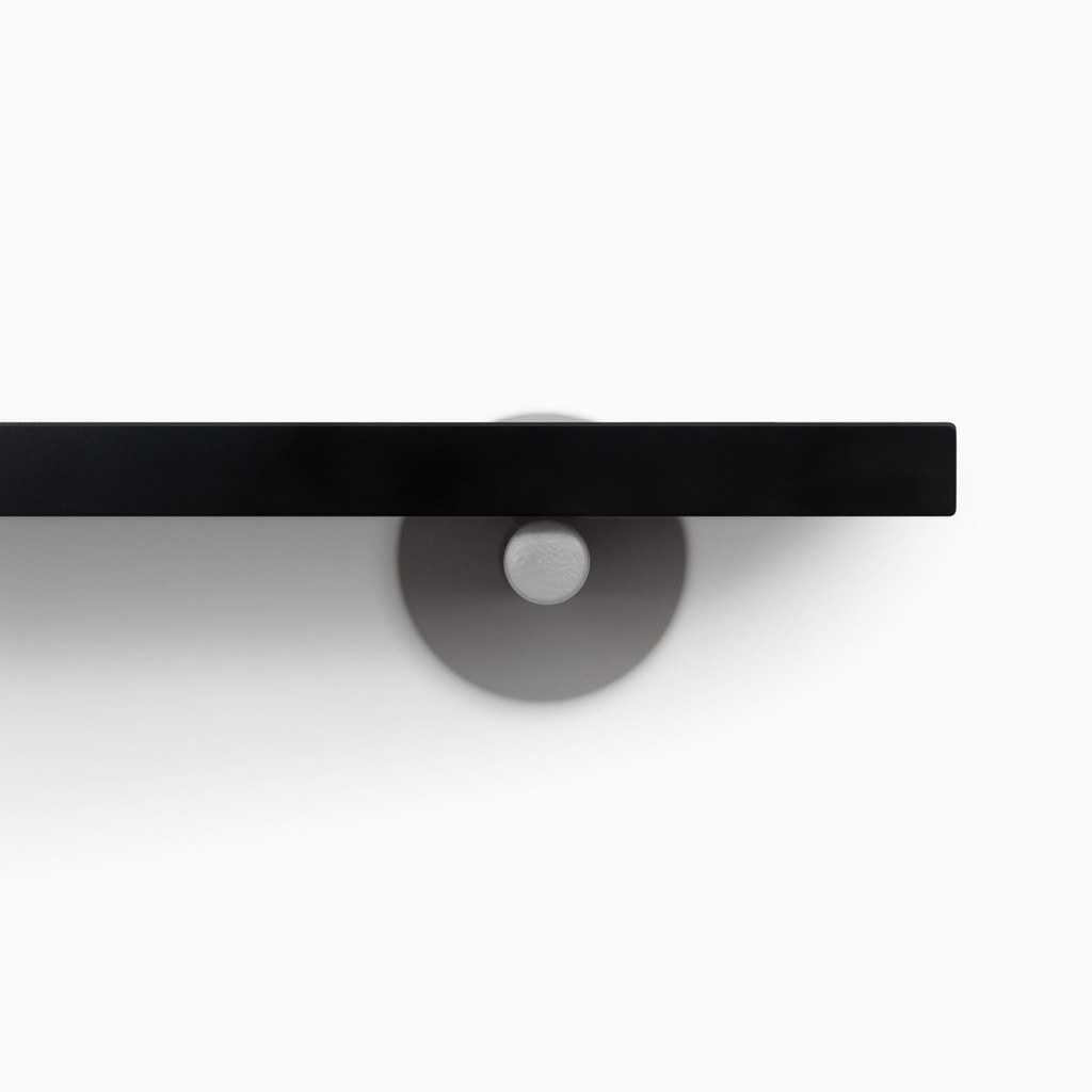 Roderick Black Wall Shelf
