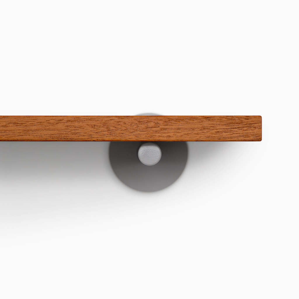 Roderick Mahogany Wall Shelf