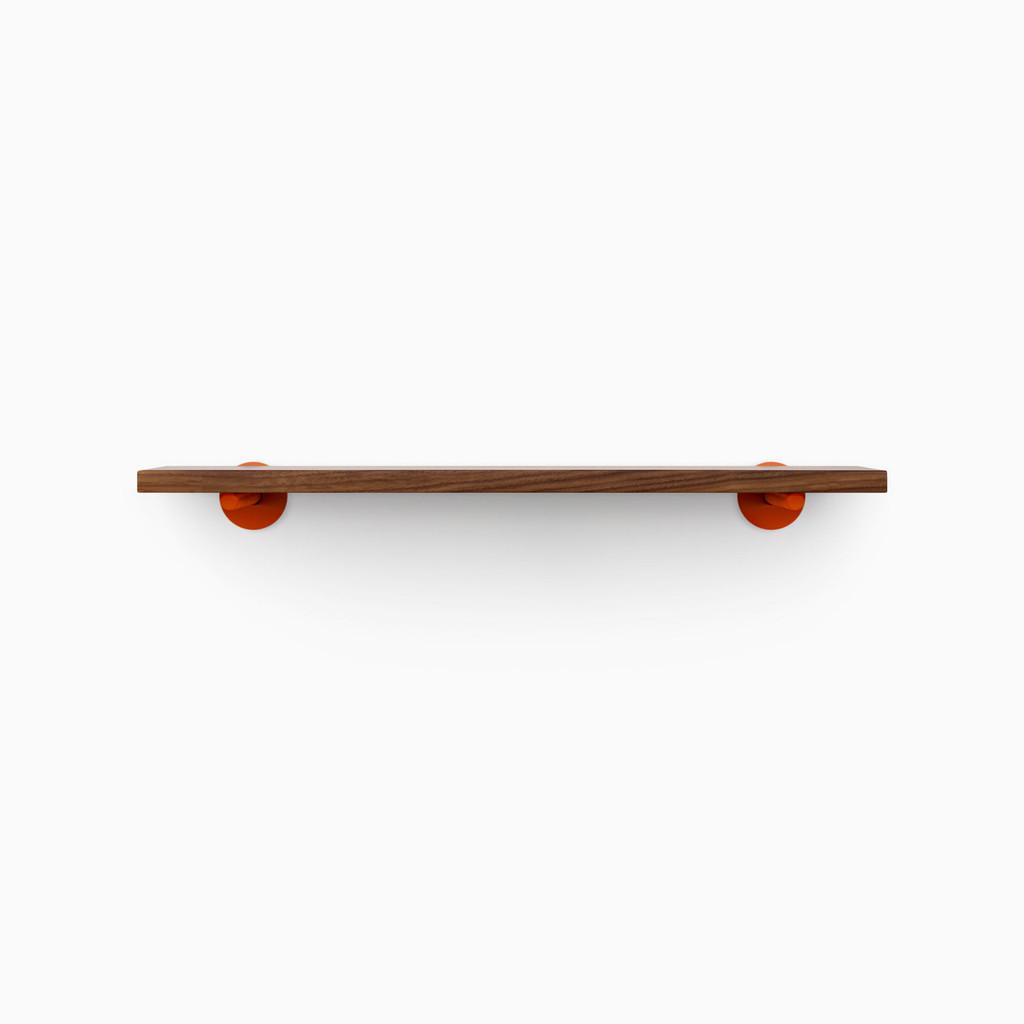 Roderick Walnut Floating Shelf