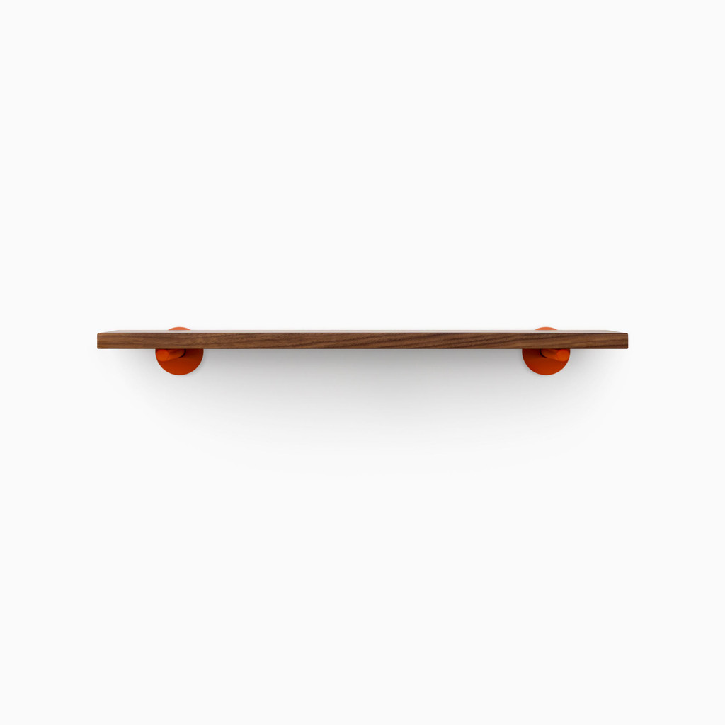 Roderick Walnut Wall Shelf